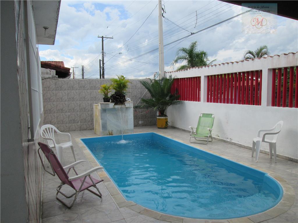 Casa com piscina à venda, Bopiranga, Itanhaém - CA0243.