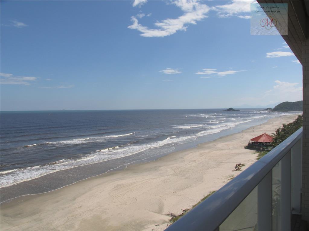 Apto de frente para o mar a venda no Centro de Itanhaém