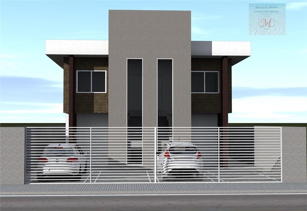 Casa Sobreposta com 2 dormitórios (1 suíte) - Jd. América - Itanhaém - SP