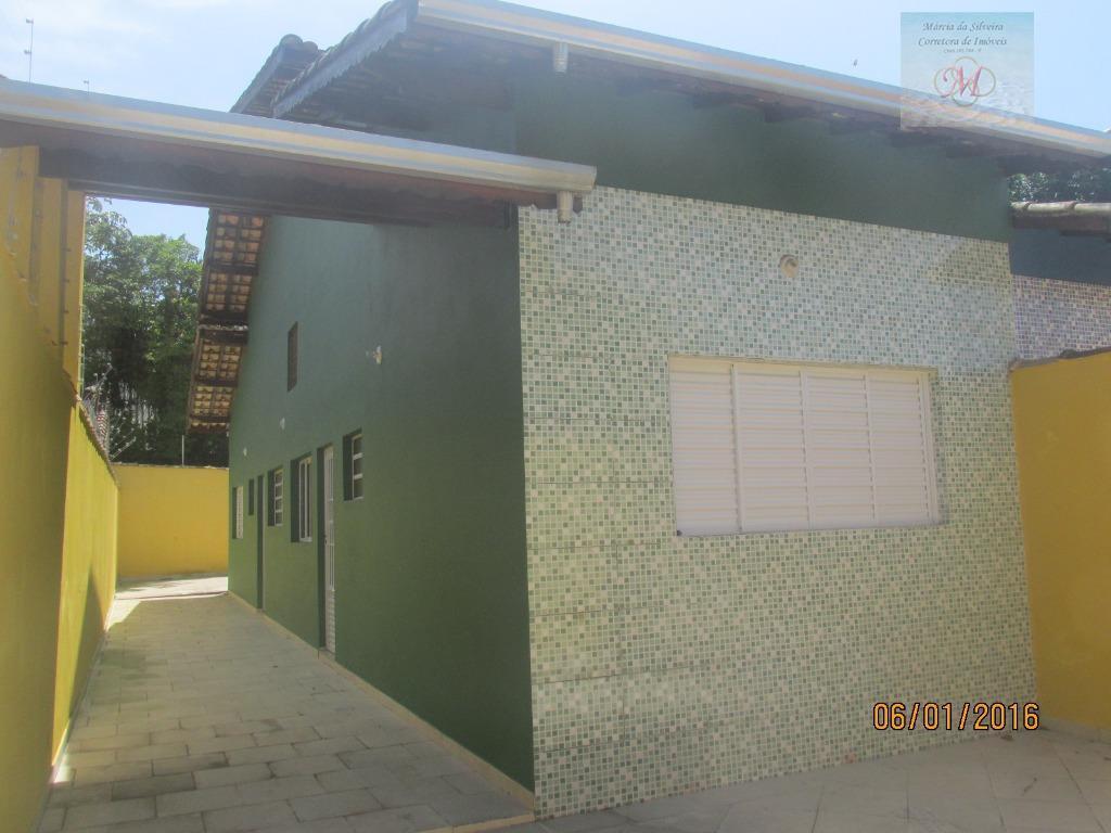 Casa Geminada à venda, terreno de 195 m² - Nova Itanhaém, Itanhaém.