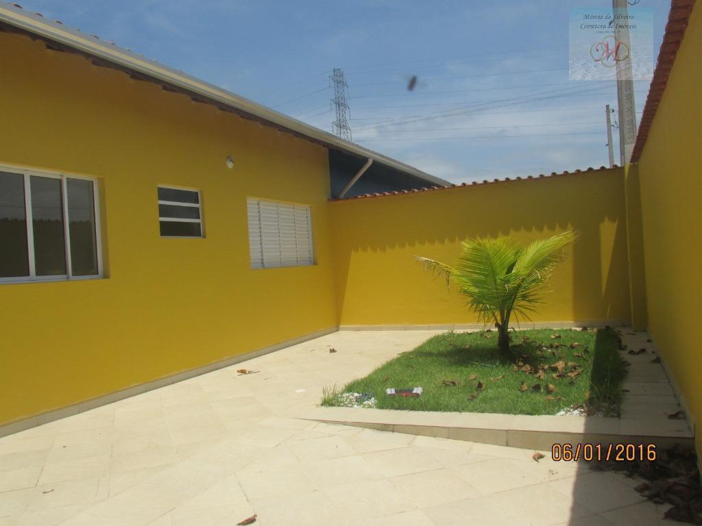 Casa geminada - lado praia à venda, Nova Itanhaém, Itanhaém.