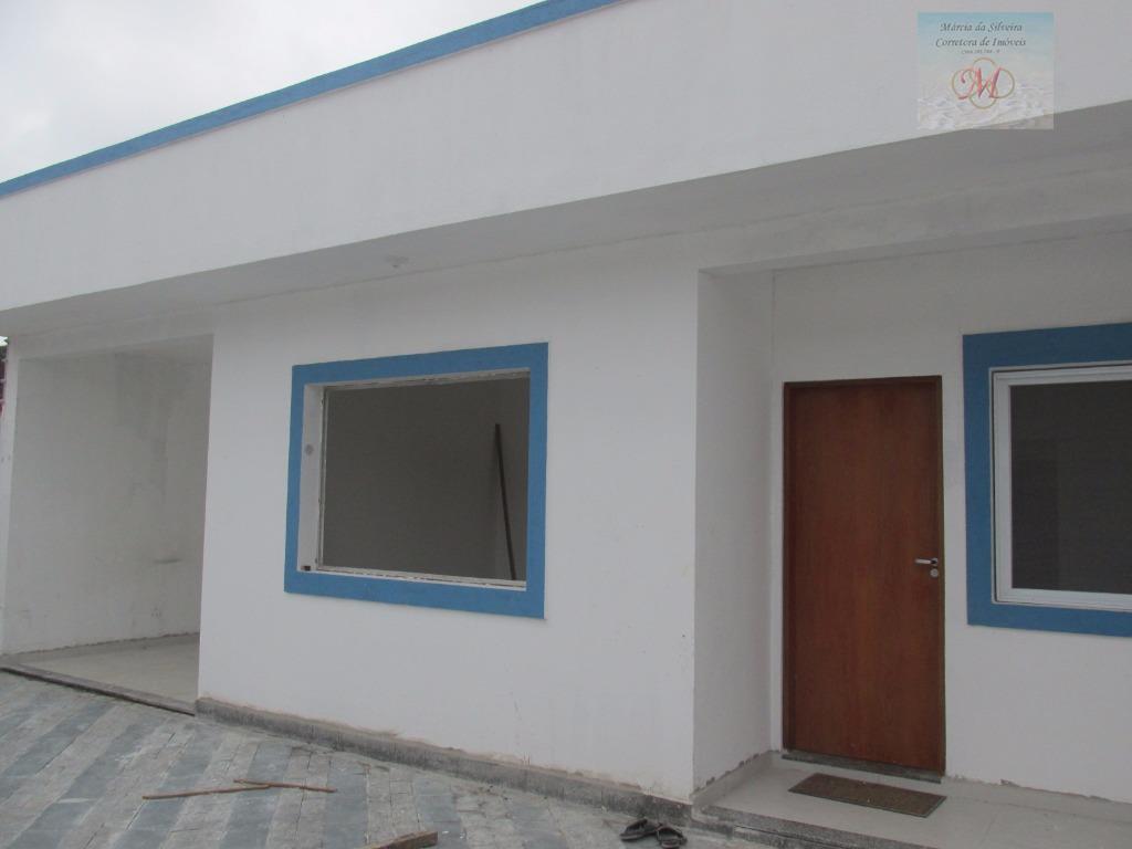 Casa  nova à venda, Suarão, Itanhaém.