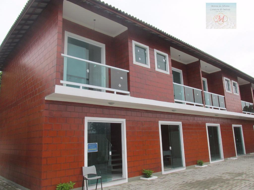 Sobrado em condomínio à partir de R$ 249 mil - Suarão, Itanhaém.