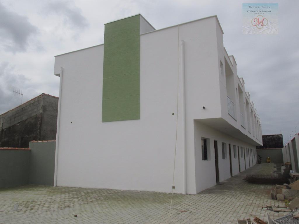 Sobrado residencial à venda, Estância Balneária de Itanhaém, Itanhaém - SO0081.