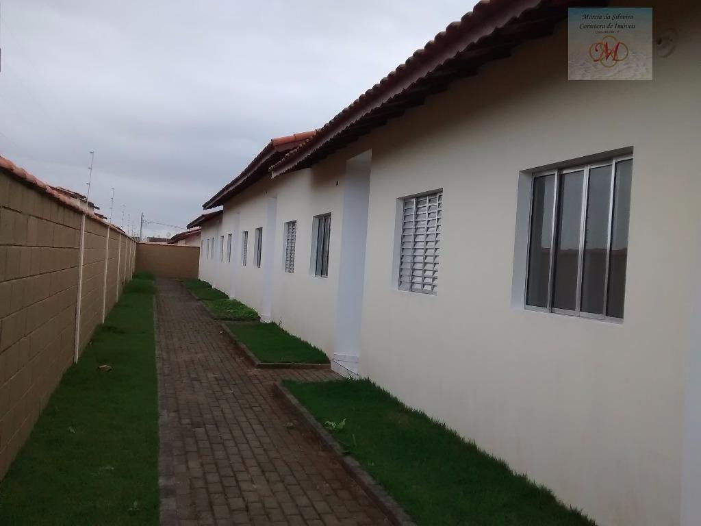 Casa  nova, 2 dormit. com suíte à venda, Cibratel II, Itanhaém.