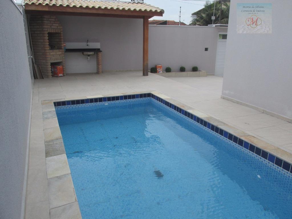 Sobrado residencial à venda com Piscina, 3 dormitórios sendo 1 suíte , Belas Artes, Itanhaém.