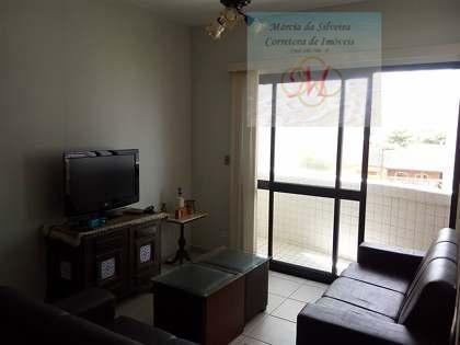 Apartamento de 2 dormitórios pé na areia a venda no bairro Satélite em Itanhaém
