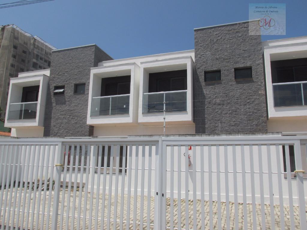 Sobrado Novo à venda em condomínio, Praia Do Sonho, Itanhaém.