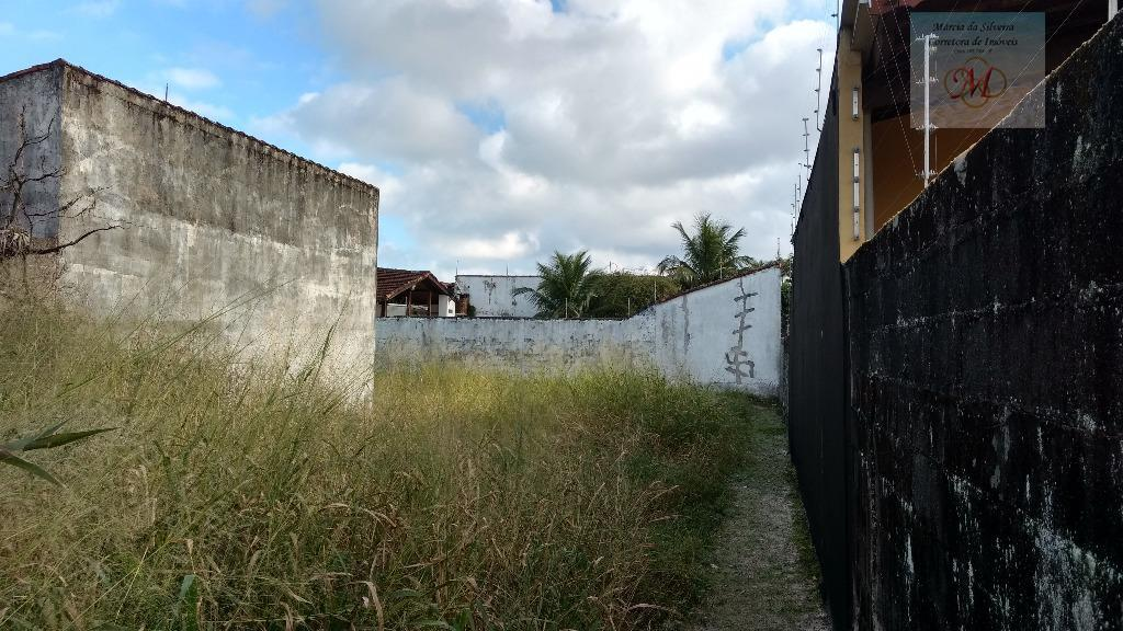 Terreno lado praia no bairro Nova Itanhaém