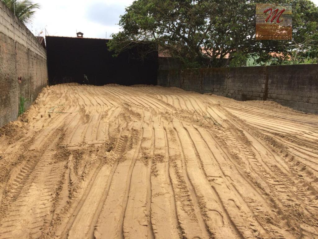 Terreno de 250 m² lado praia no bairro Bopiranga a venda em Itanhaém
