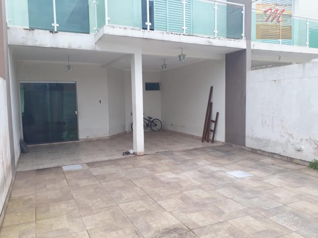 Sobrado residencial à venda, 3 dormitórios - pertinho da praia - Cibratel I, Itanhaém.