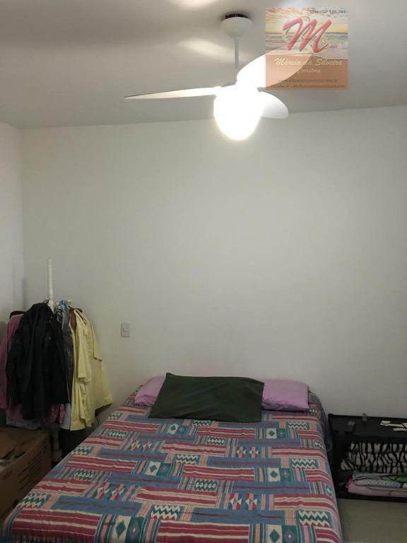 Apartamento de 2 dormitórios com vista para o mar a venda no Centro em Itanhaém