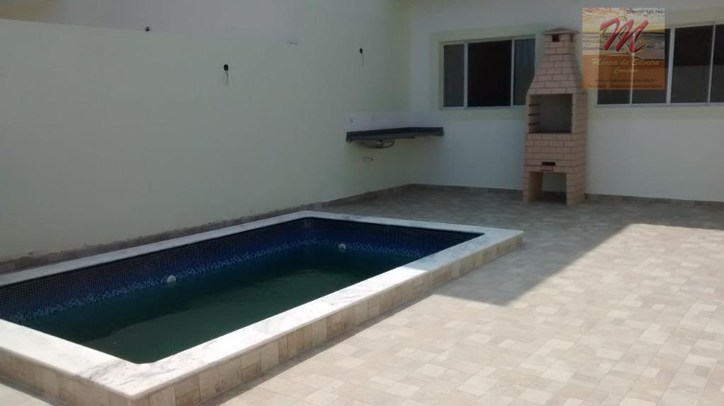Casa com 2 dormitórios à venda, 66 m² por R$ 247.000 - Cibratel II - Itanhaém/SP
