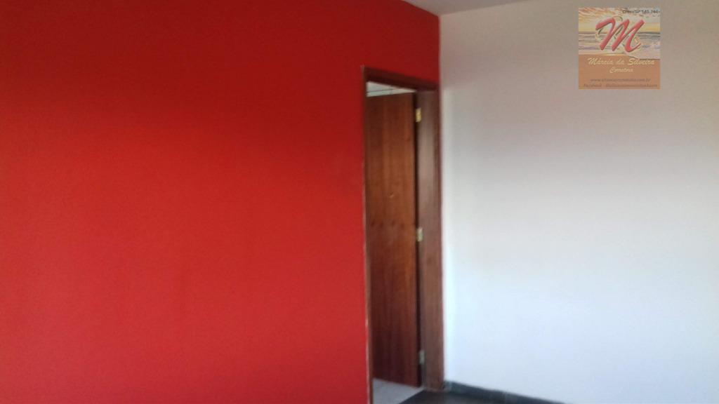 Apto com 2 dormitórios para alugar,  por R$ 950/mês - Jd. Corumbá - Itanhaém/SP