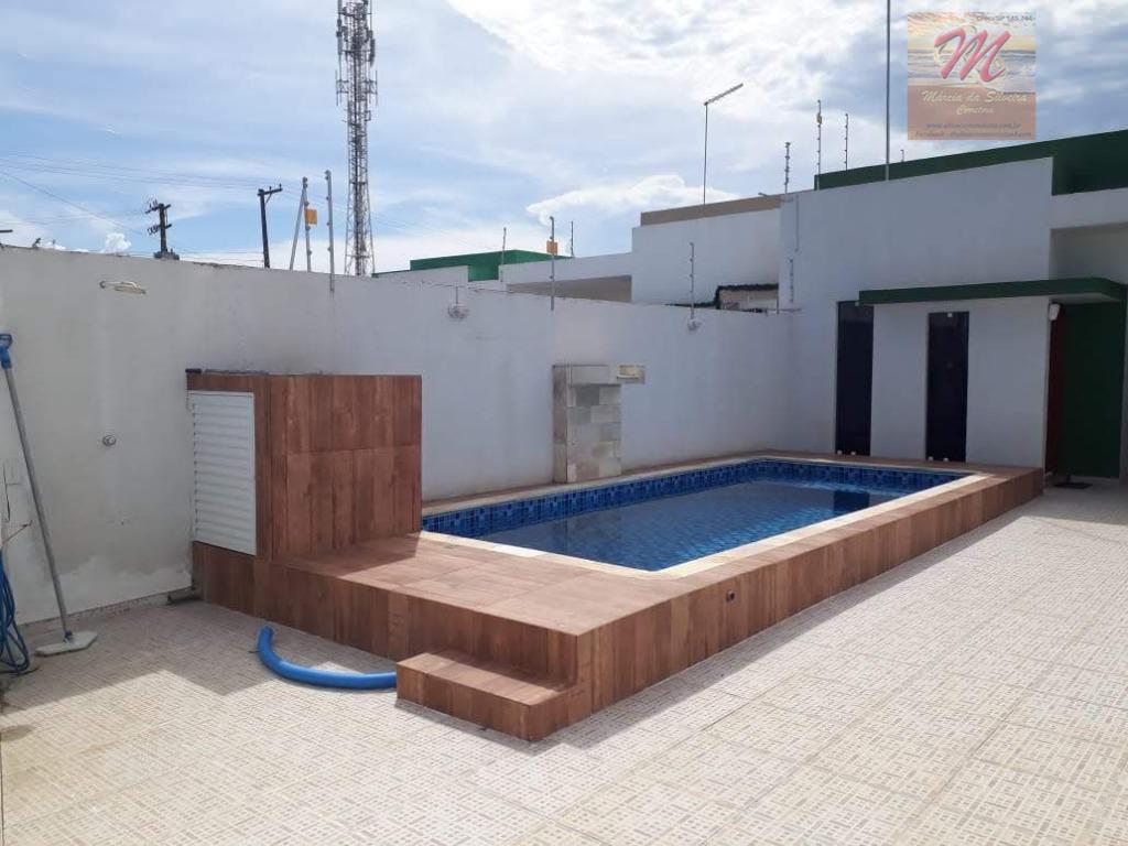 Casa c/ piscina e churrasqueira - 2 dormit. à venda ou locação definitiva, Jd. Bopiranga - Itanhaém/SP