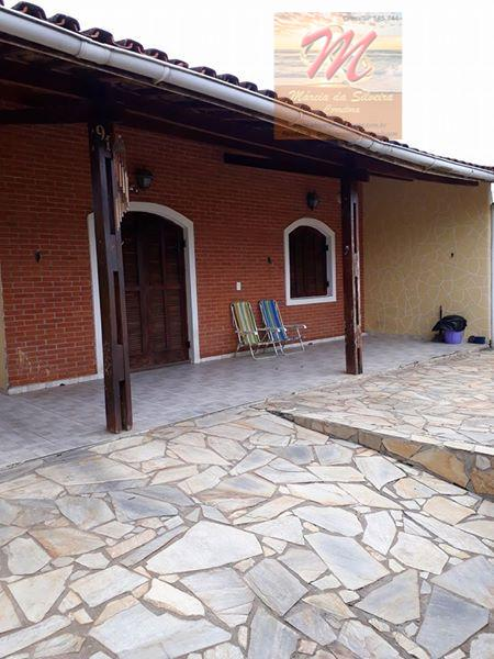 Casa com 2 dormitórios, piscina, churrasqueira à venda, por R$ 280.000 - Cibratel II - Itanhaém/SP