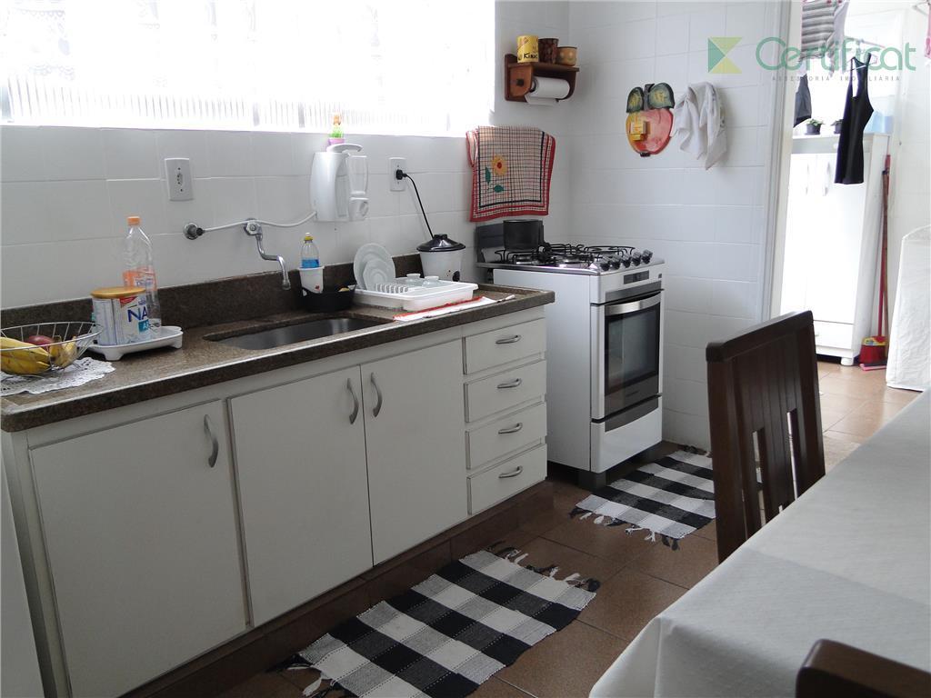 Apartamento 3 dormitórios à venda, Campo Grande, Santos.