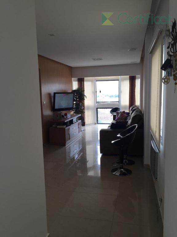 Apartamento residencial para venda e locação, Centro, São Vicente.