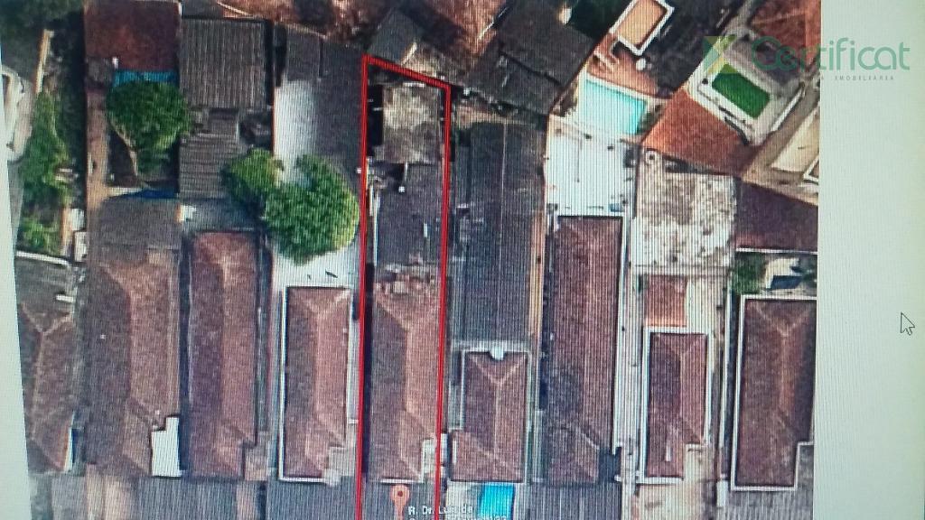 Terreno residencial à venda, Vila São Jorge, Santos.