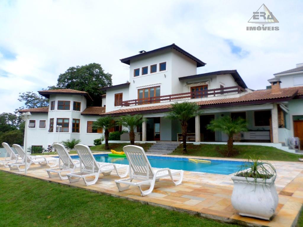 Casa Alto Padrão residencial à venda, Condomínio Arujazinho I, II e III, Arujá - CA0070.