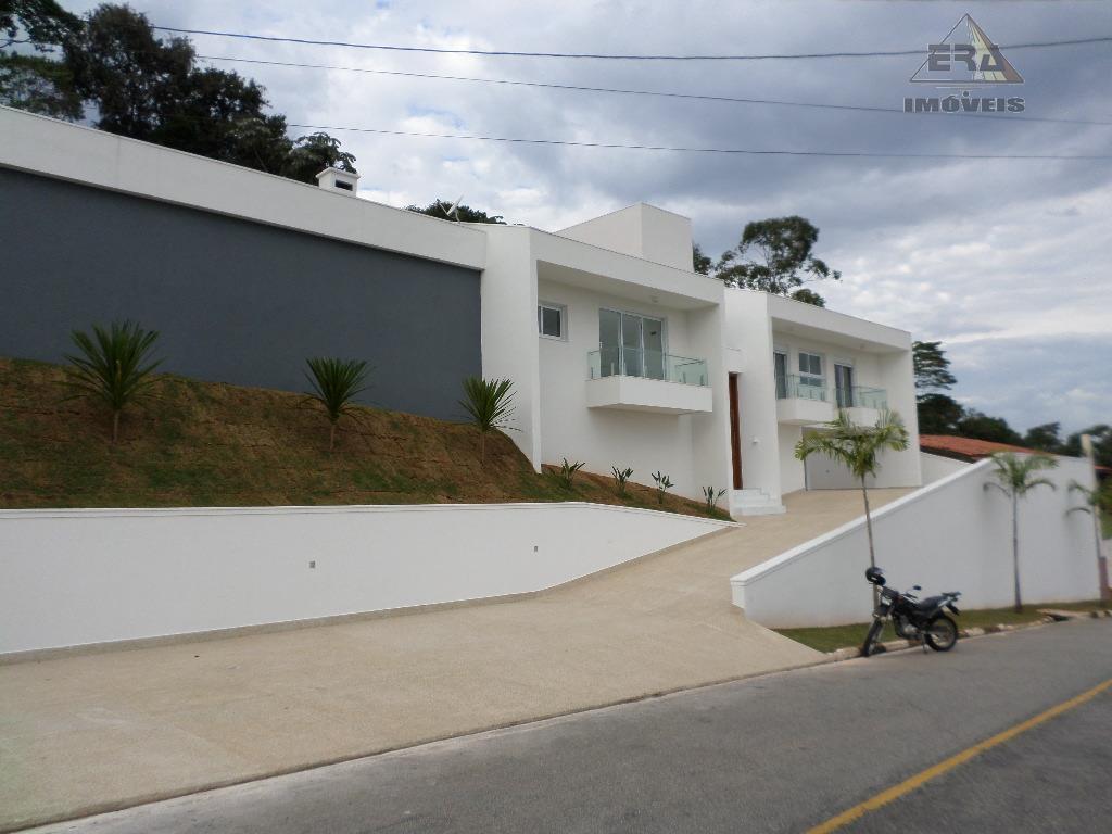 Casa residencial à venda, Condomínio Hill's I e II, Arujá - CA0257.