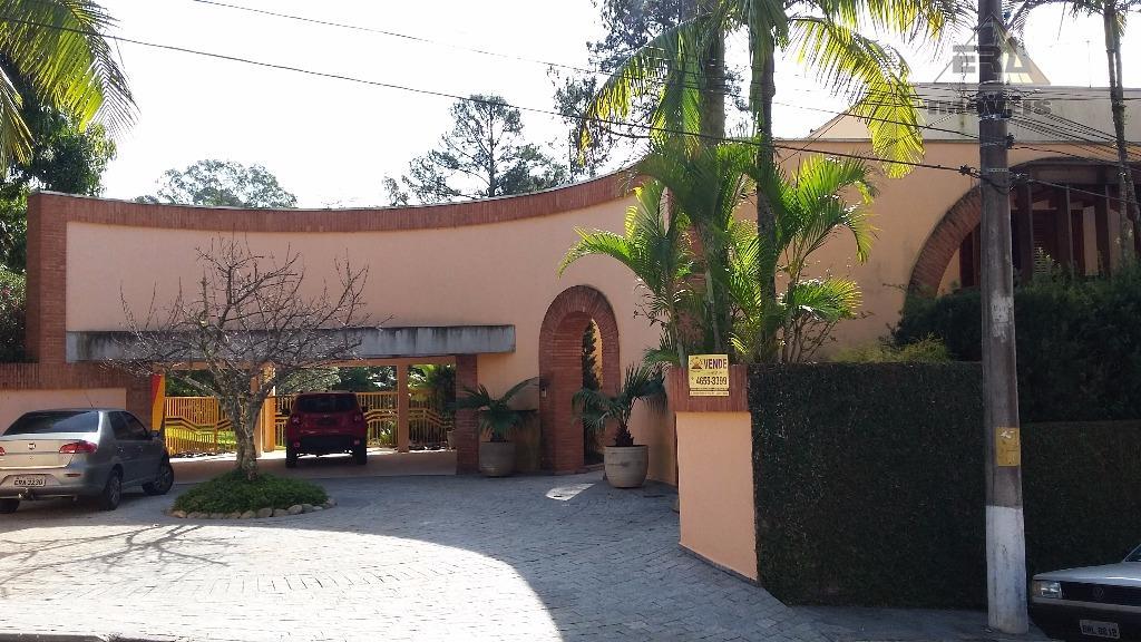 Casa residencial à venda, Condomínio Arujazinho I, II e III, Arujá - CA0366.
