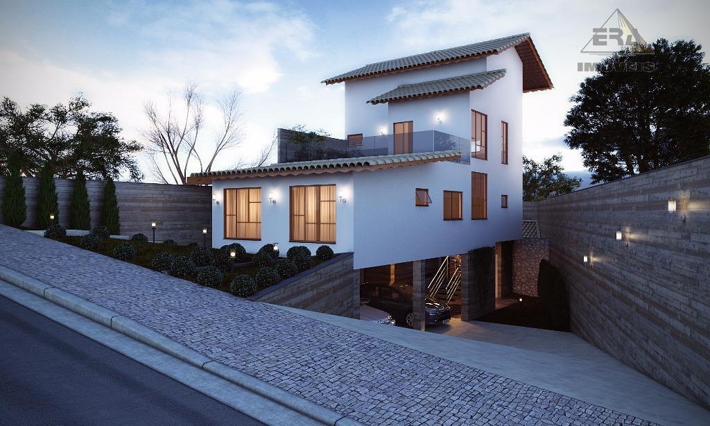 Casa residencial à venda, Jordanópolis, Arujá - CA0393.