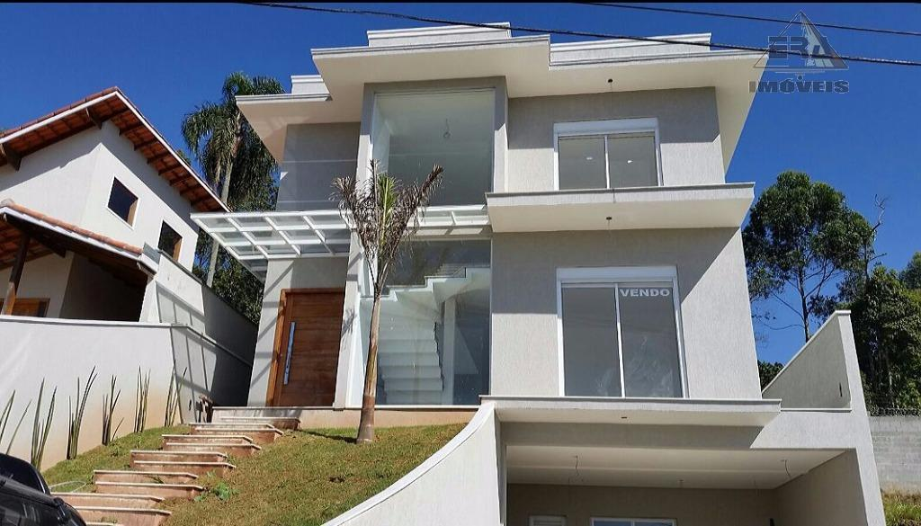 Casa residencial à venda, Condomínio Real Park, Arujá - CA0188.