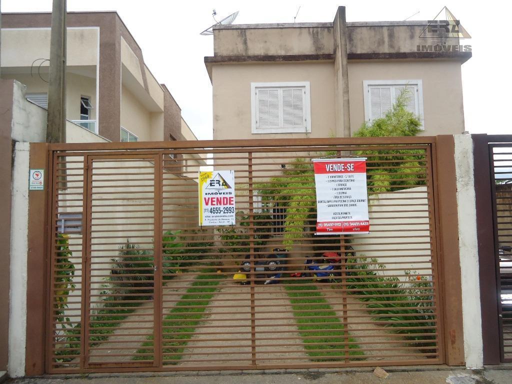 Casa residencial à venda, Jardim Planalto, Arujá.