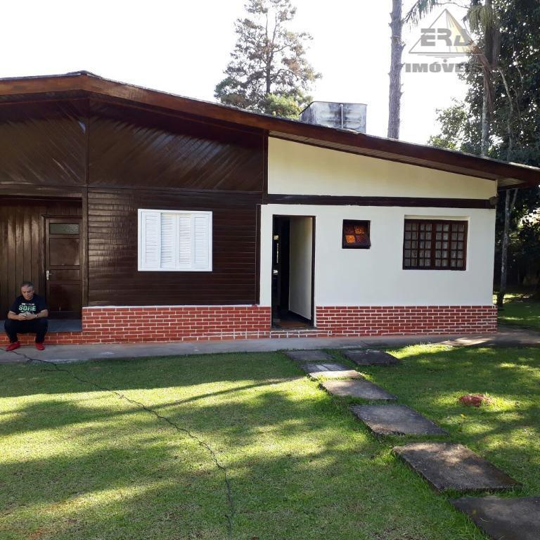 Casa residencial para locação, Condomínio Arujazinho IV, Arujá - CA0529.