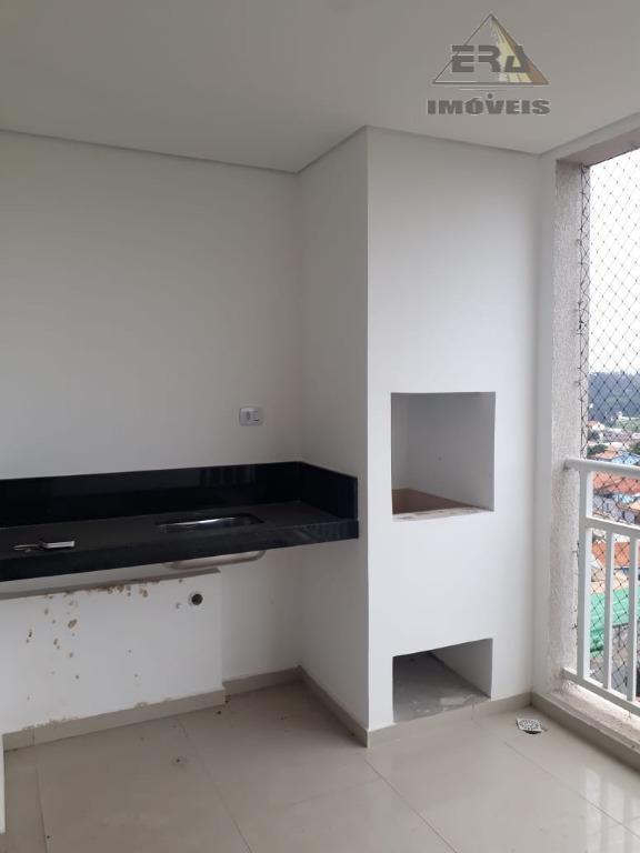 Apartamento com 3 dormitórios à venda, 86 m² por R$ 500.000 - Jordanópolis - Arujá/SP