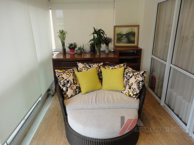 apartamento com 3 dormitórios, sendo 3 suítes com armários embutidos, cozinha americana com armários embutidos, varanda...