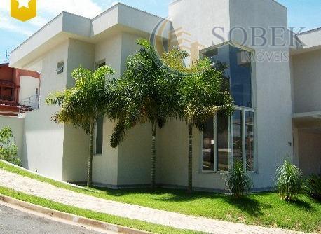 Sobrado residencial à venda, Parque Prado, Campinas.
