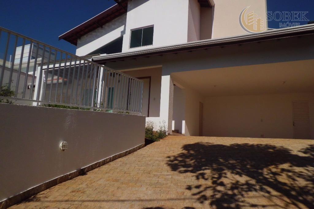 Casa residencial para locação, Loteamento Caminhos de São Conrado (Sousas), Campinas.