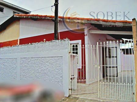 Casa residencial à venda, Vila Guilhermina, Praia Grande - CA0214.