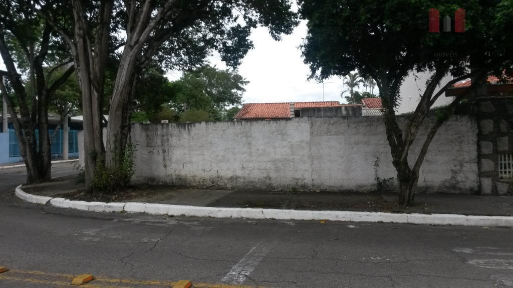 Terreno residencial à venda, Jardim Estoril, São José dos Campos.