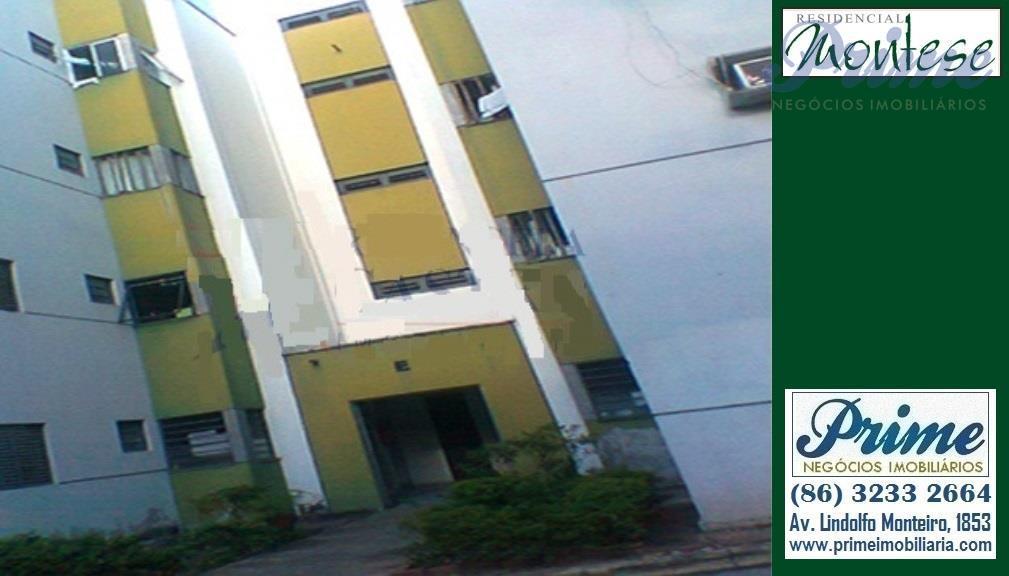 Apartamento  residencial Montese à venda, Cristo Rei, Teresina.