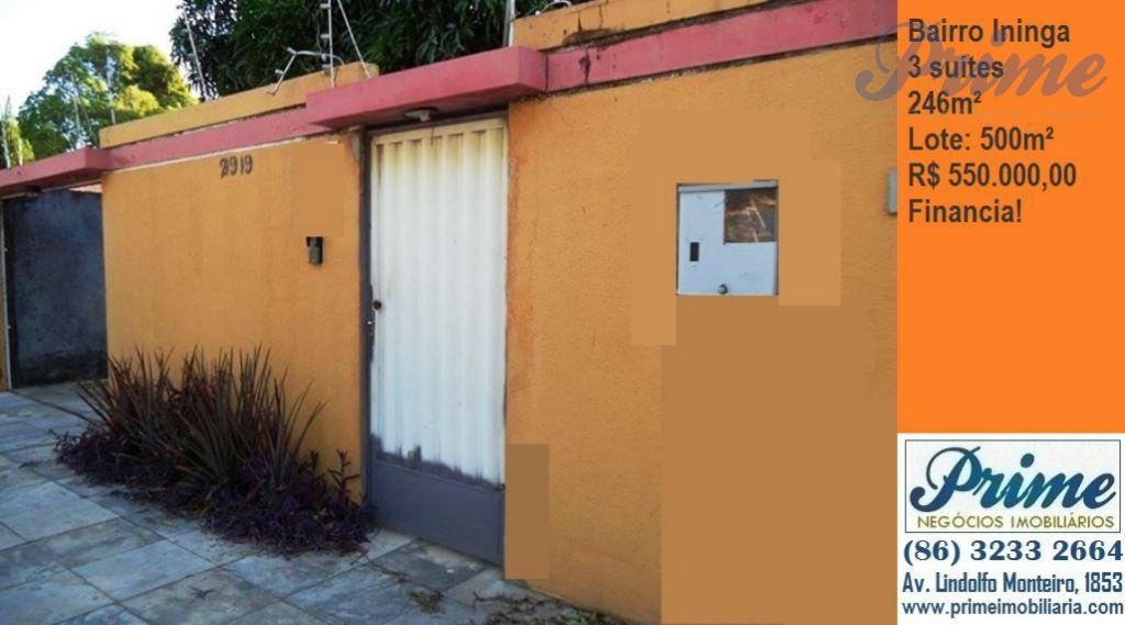 Casa  residencial à venda, Horto, Teresina.
