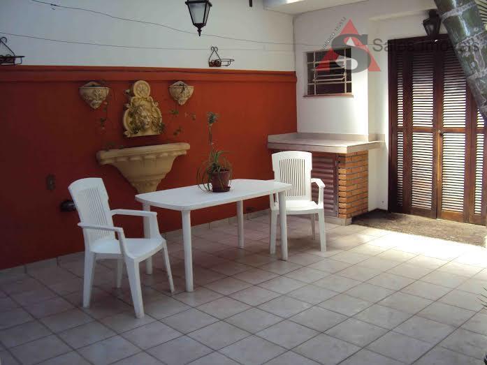 Sobrado residencial à venda, Brooklin, São Paulo - SO3538.
