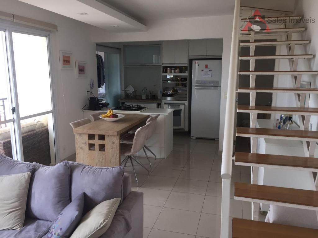 Apartamento Duplex residencial para venda e locação, Sumarezinho, São Paulo - AD0161.