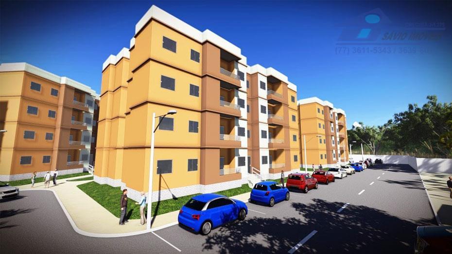 Apartamento  residencial à venda, Vila Dulce, Barreiras.