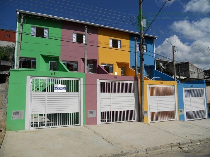 Sobrado residencial à venda, Estância Lago Azul, Franco da Rocha.