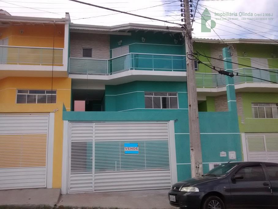 Sobrado residencial à venda, Jardim Progresso, Franco da Rocha.