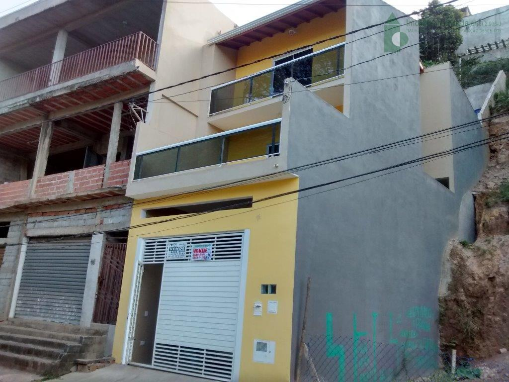 Sobrado residencial à venda, Vila Humbelina, Franco da Rocha.