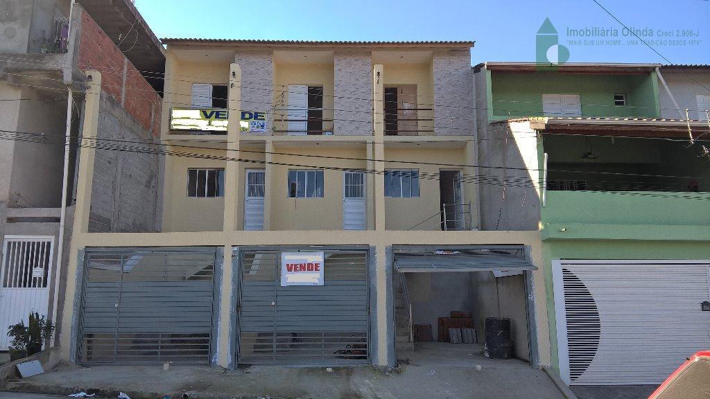 Sobrado residencial à venda, Jardim Luciana, Franco da Rocha.