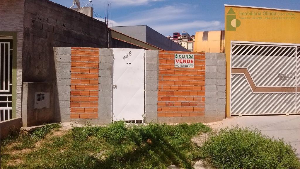 Terreno residencial à venda, Jardim Luiza, Franco da Rocha.