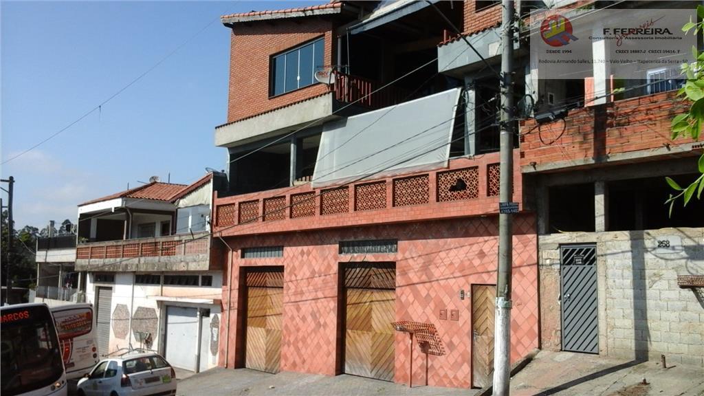 Casa  residencial à venda, Jardim Batista, Embu das Artes.