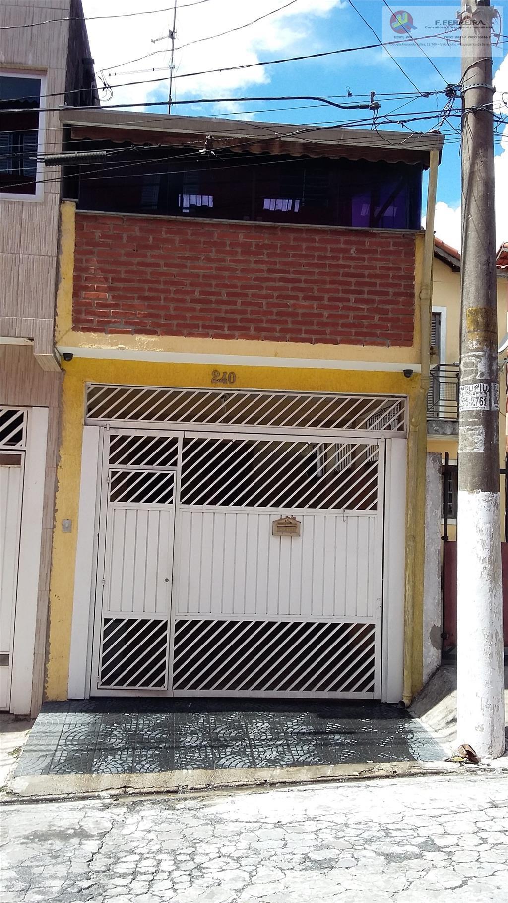 Sobrado  residencial à venda, Jardim Dom José, São Paulo.