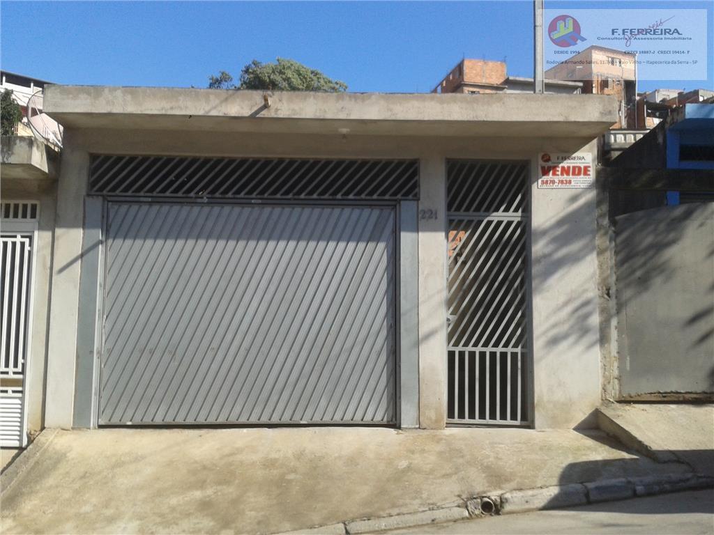 Casa  residencial à venda, Chácara Santa Maria, Itapecerica da Serra.