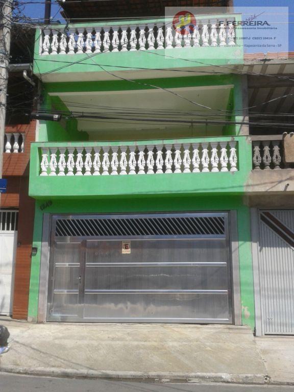 Sobrado  residencial à venda, Chácara Santa Maria, São Paulo.